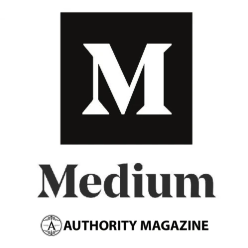 Medium Authority Magazine logo.