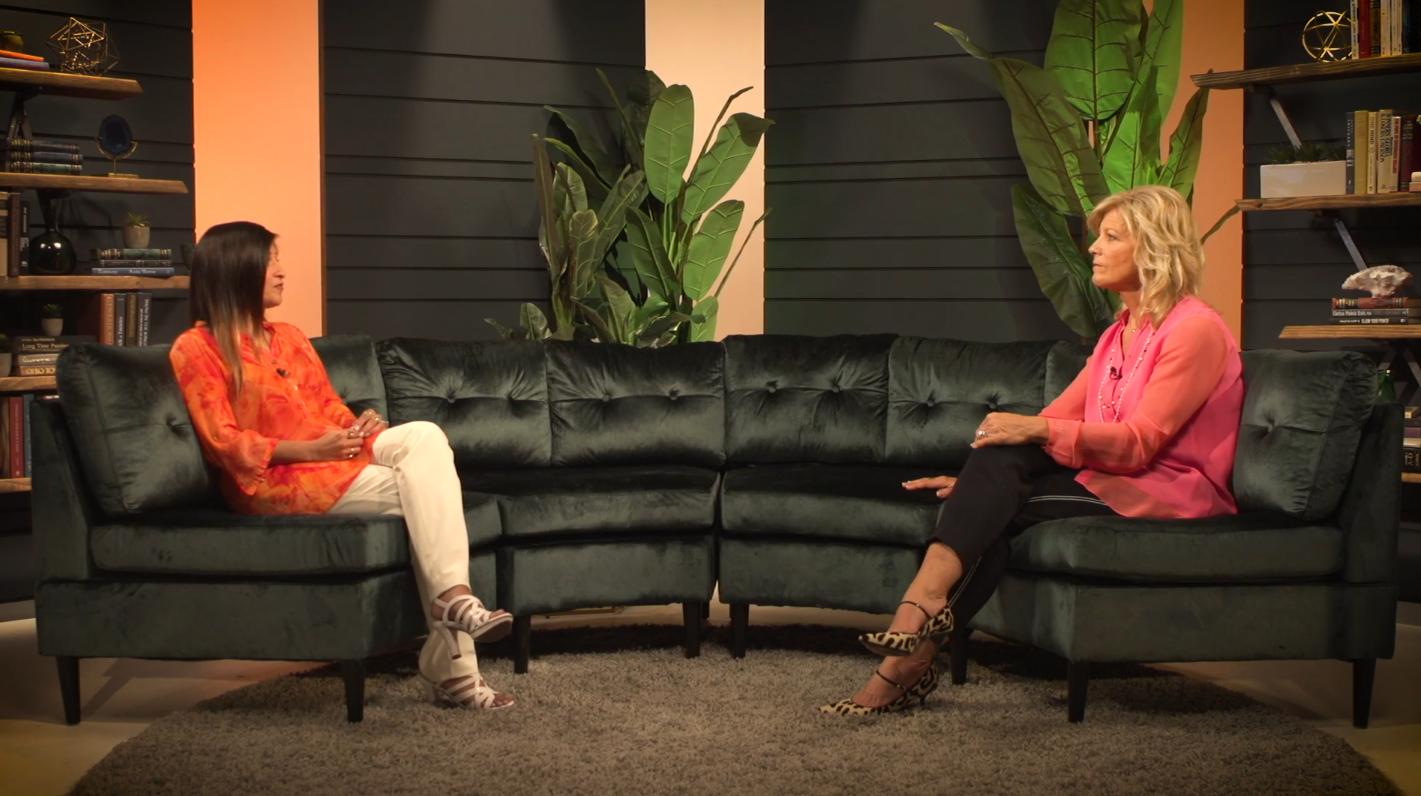 Dr. Shamini Jain with Dr. Sue Morter on GaiaTV.