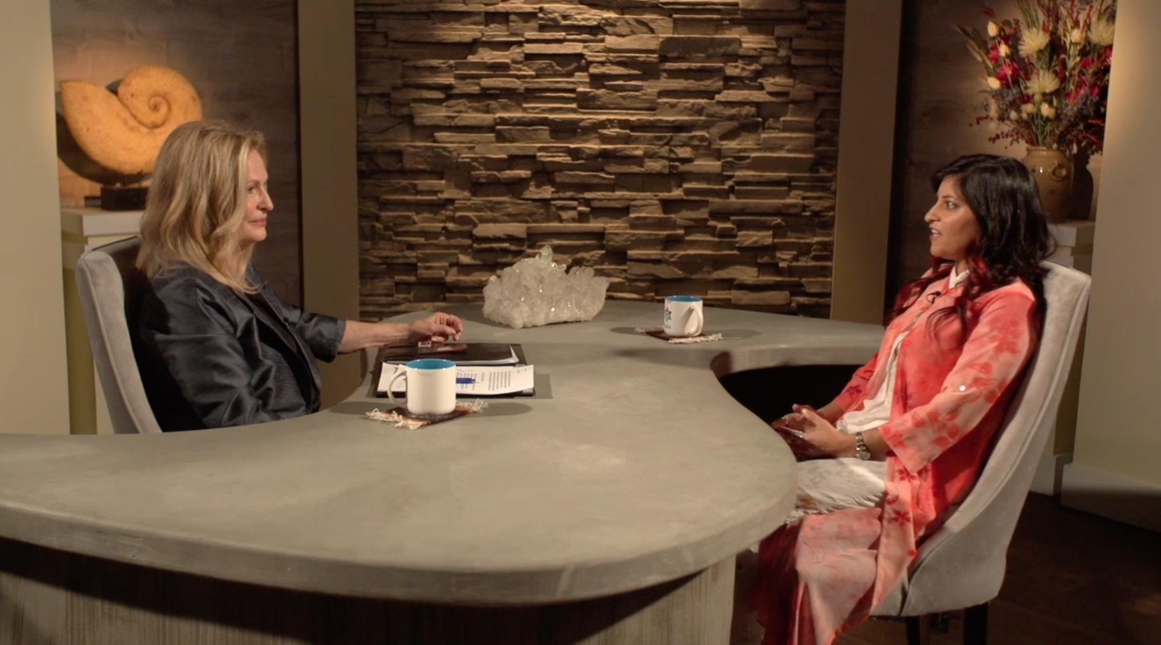 Dr. Shamini Jain on GaiaTV with Regina Meredith.