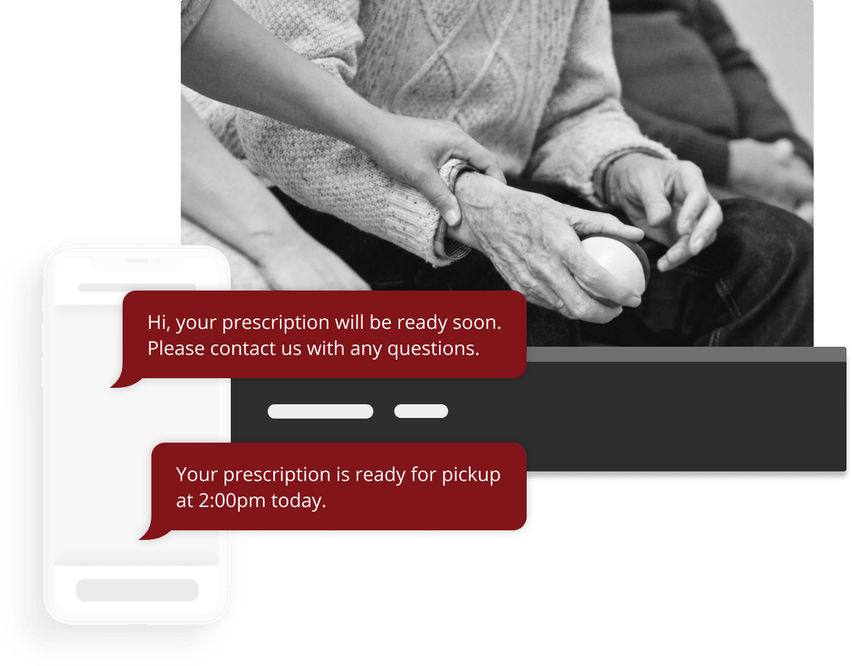 SMS Messaging Software in use in the Healthcare industry.