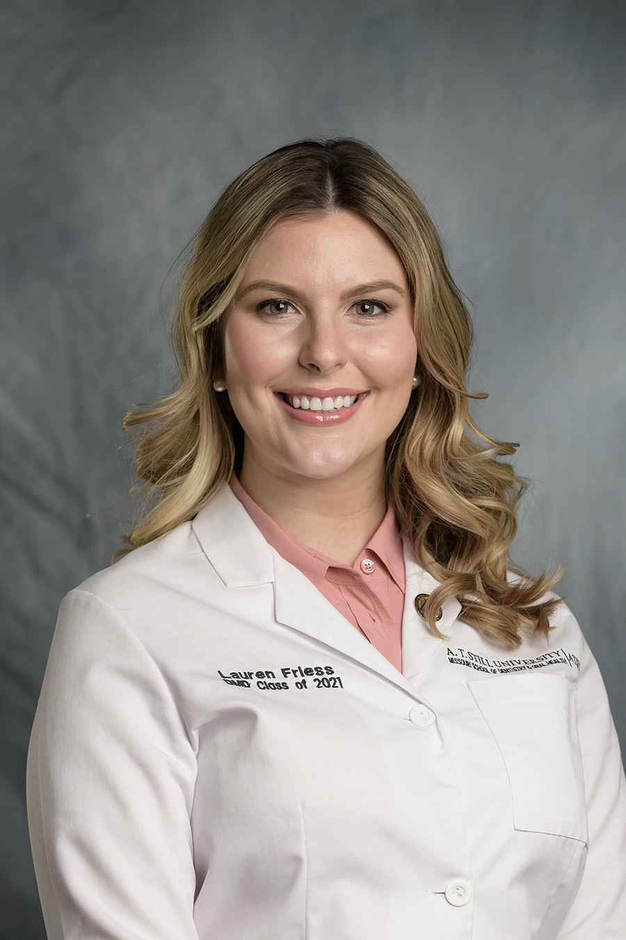 A photo of Dr. Lauren Friess who is the newest dentist in Wentzville, MO