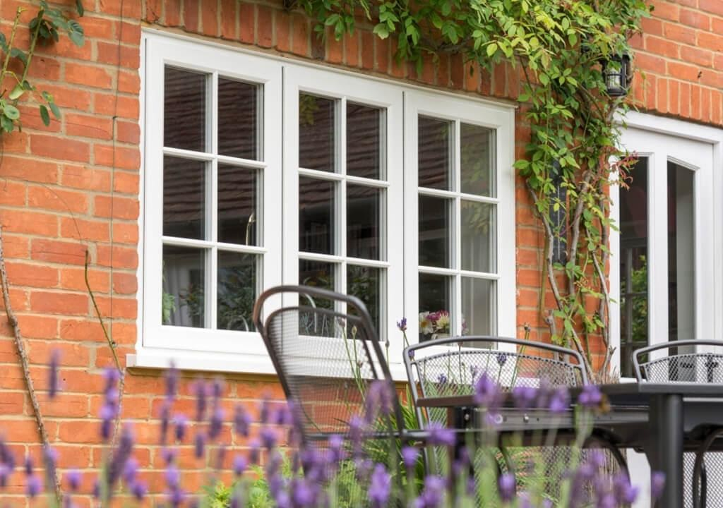 Double Glazed uPVC Flush Sash Windows in Surrey | P&P Glass