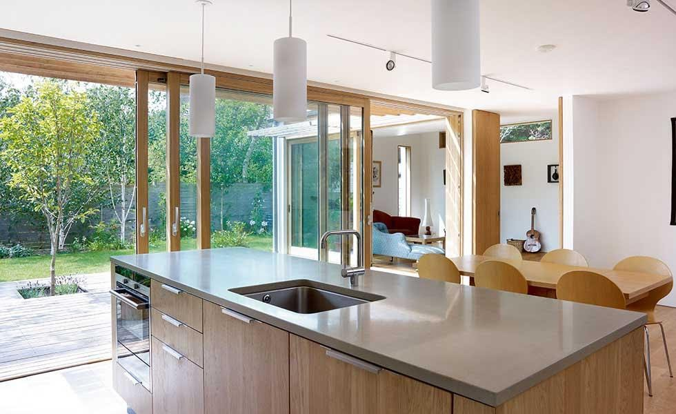 Timber sliding doors from Westgate Joinery