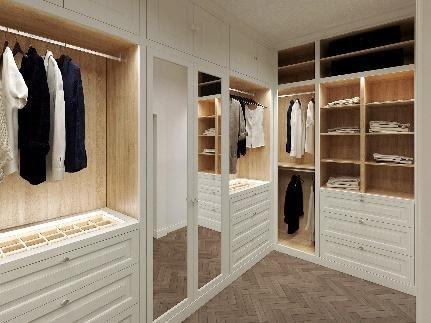 Wardrobes – Walkin Closet – Designed cabinets - Amsterdam