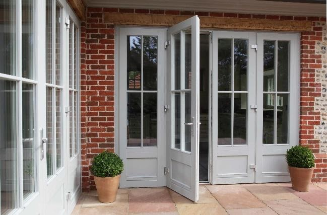 Triple glazed timber French doors - Green Building Store Green Building  Store