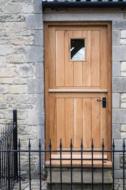 Handmade, bespoke wooden doors | Arlberry