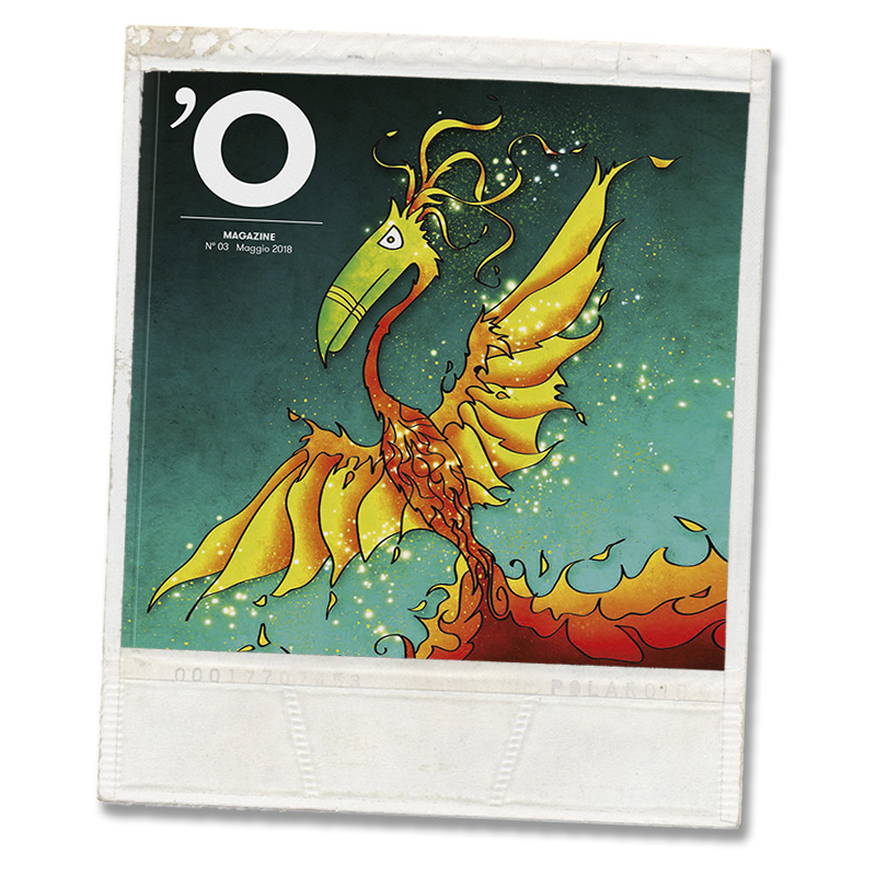 O Magazine, the first Italian magazine with Augmented Reality