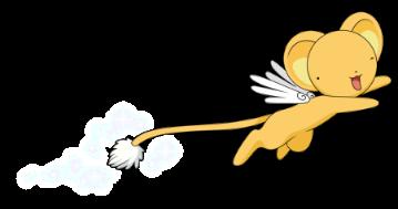 Flying Kero-chan, from Card Captor Sakura