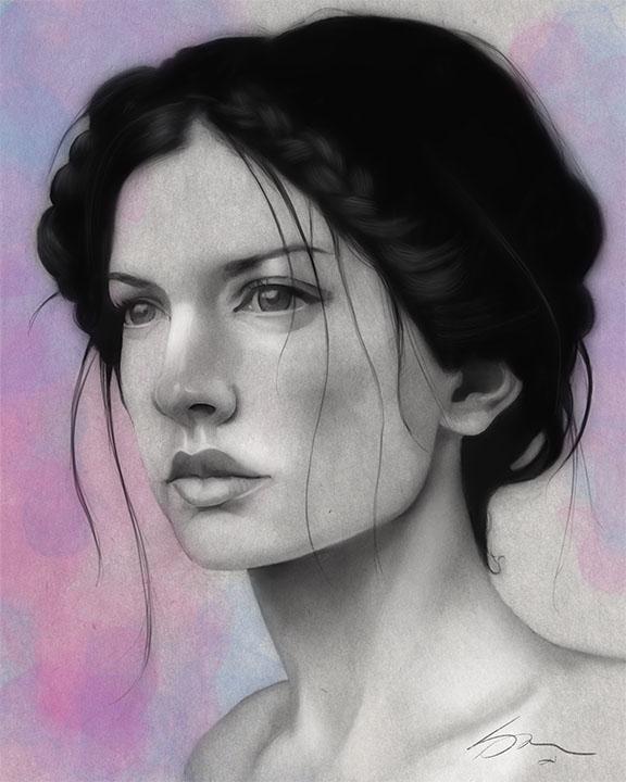 For Claire - A Facial Study