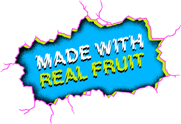 Made With Real Fruit