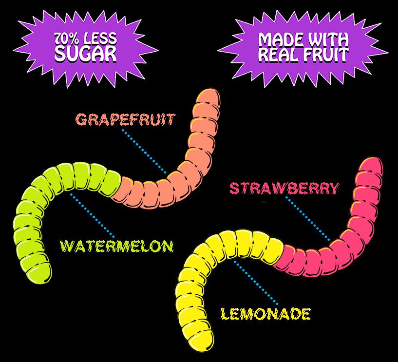 Regular Gummy Worms