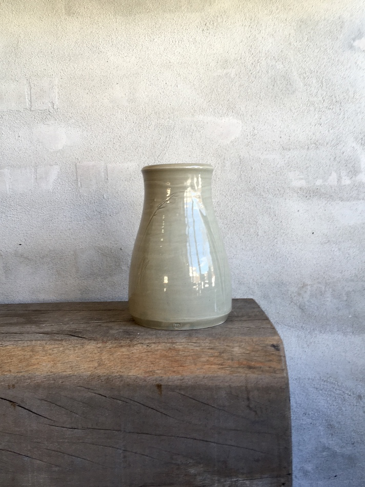Vase med vilde strå.