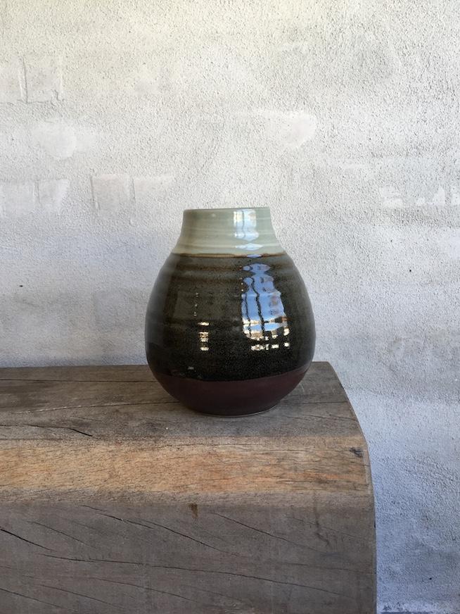 Dråbeformet vase.