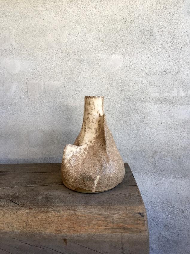 Unik håndbyggede 'Roots' vase.