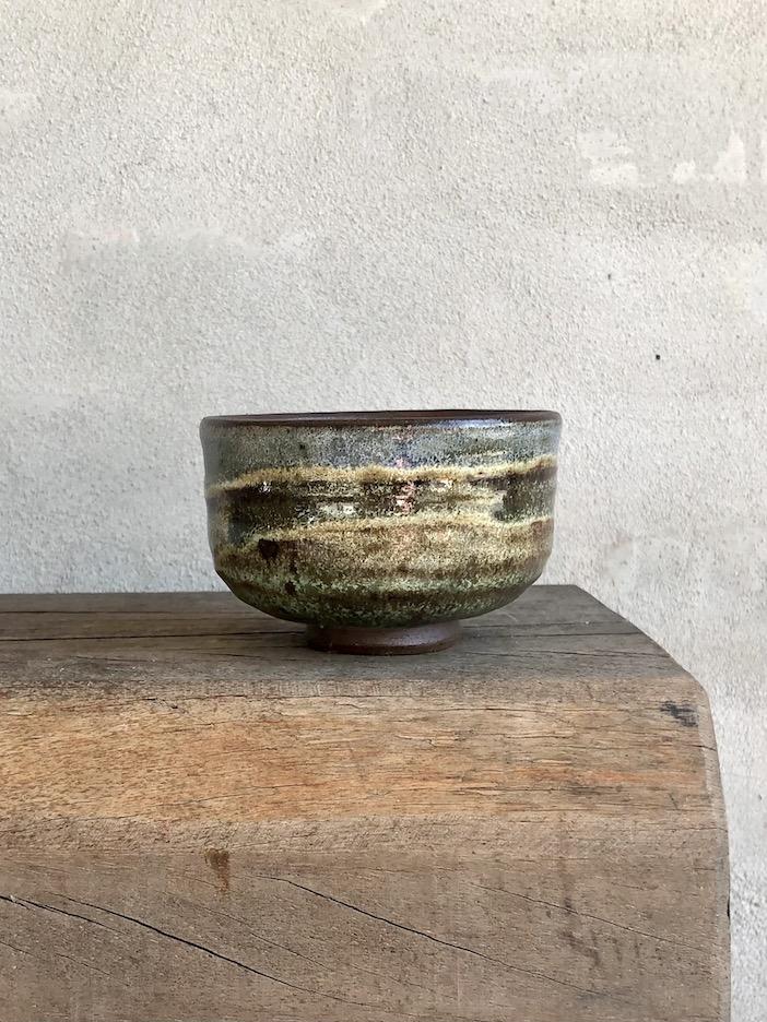 Japansk teskål med tre farver. #3