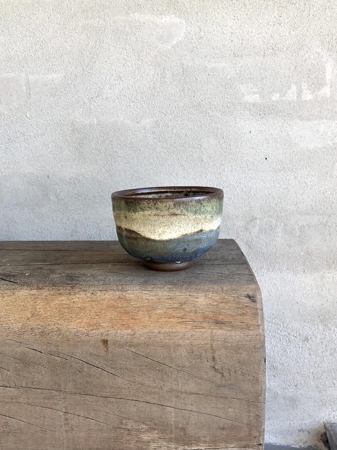 Japansk teskål i tre farver. #12