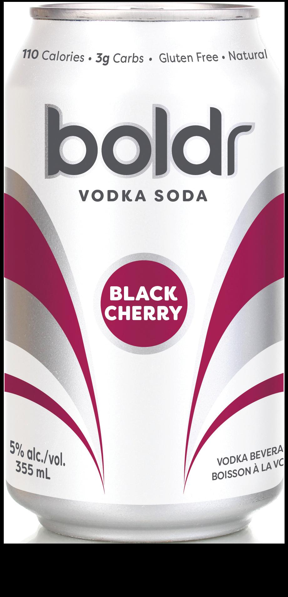Boldr Black Cherry Vodka Soda
