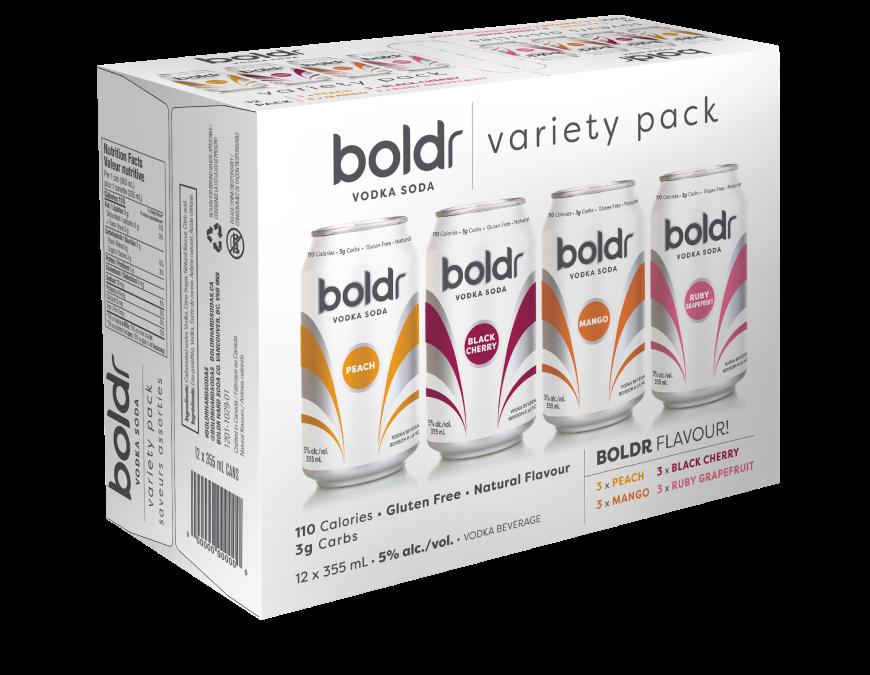Boldr Vodka Soda Variety Pack