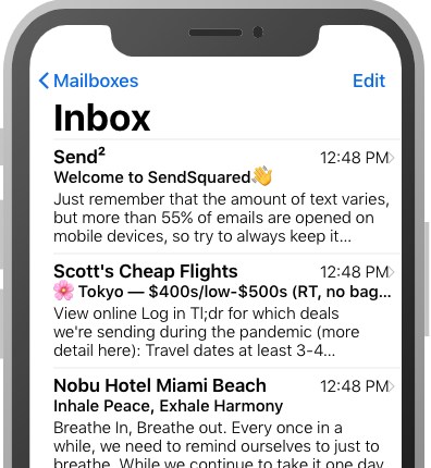 Email Marketing Preview Line