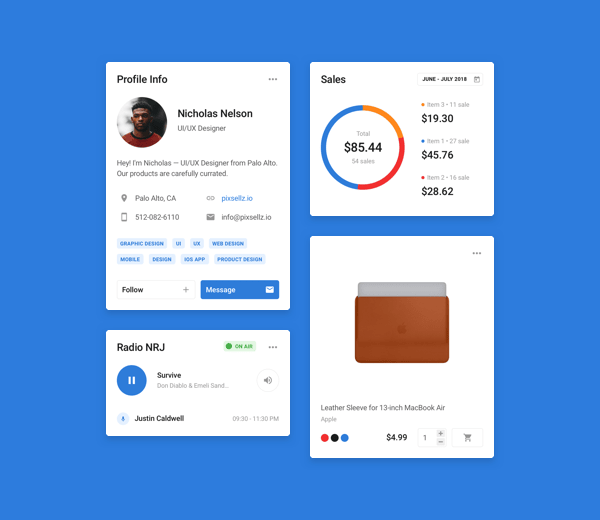 ui kit and design system for sketch & figma