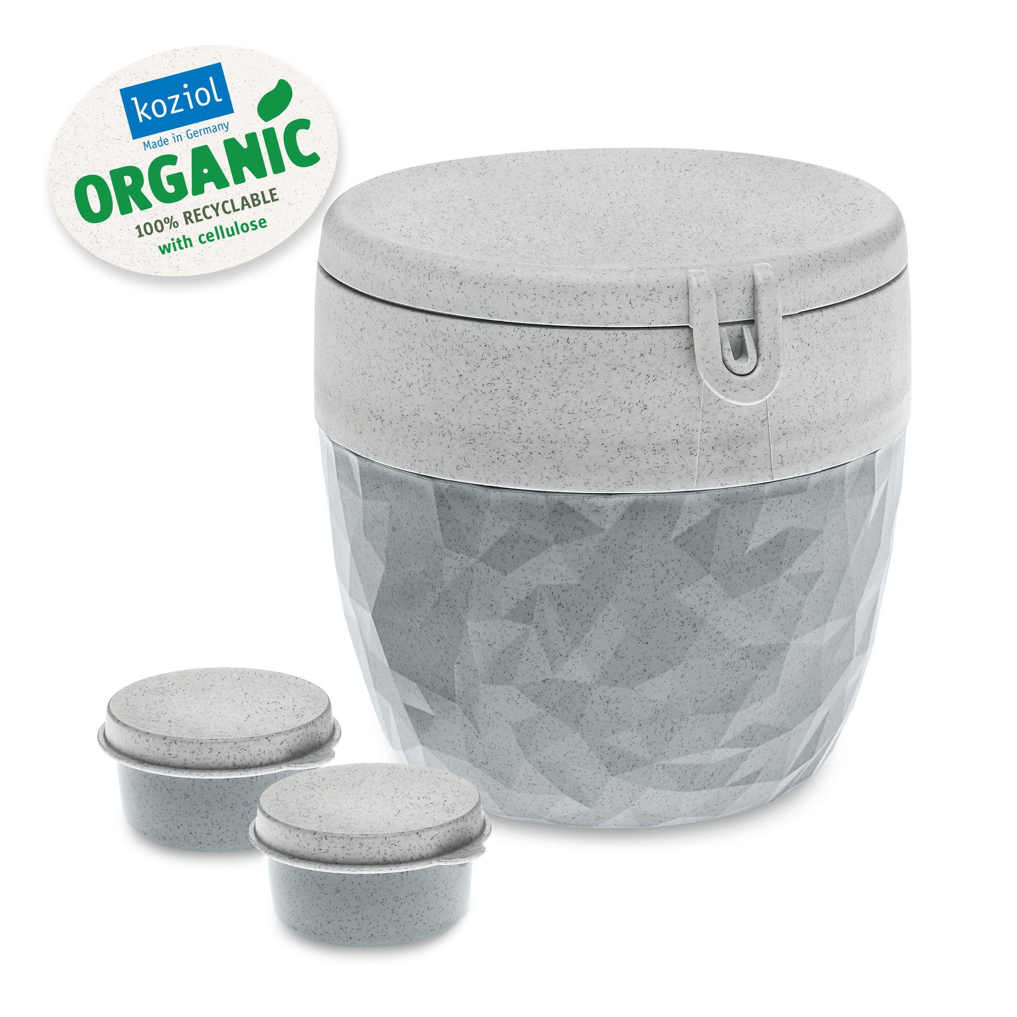 Koziol Box für Speisen als nachhaltiges Mehrwegartikel