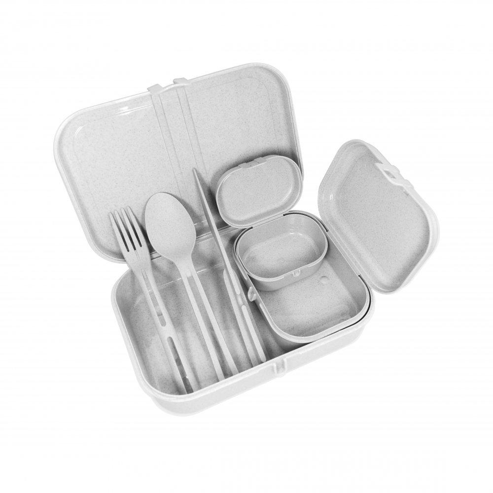 Koziol Foodbox aus nachhaltigem organischem Material hergestellt
