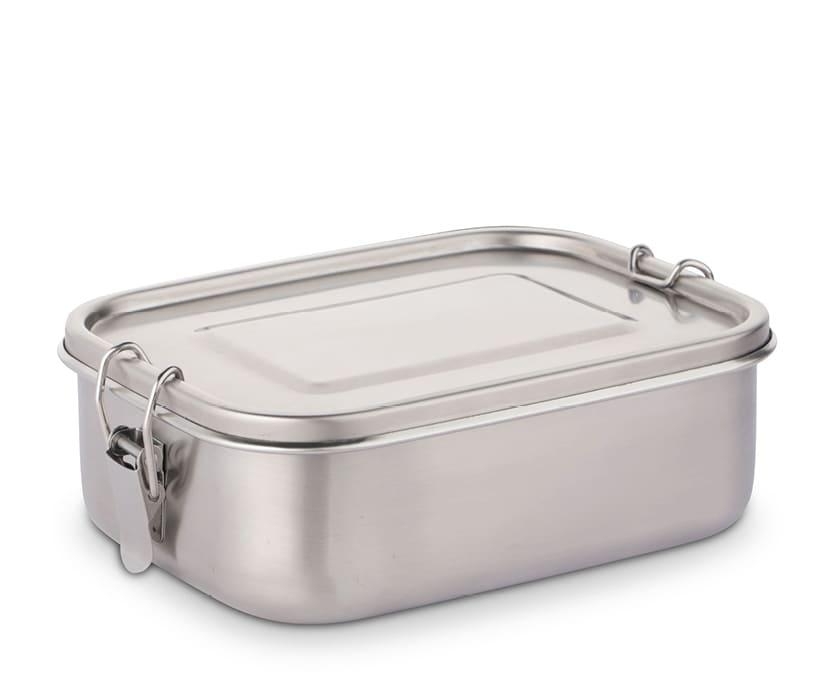Mehrweg Lunchbox aus Edelstahl, dicht