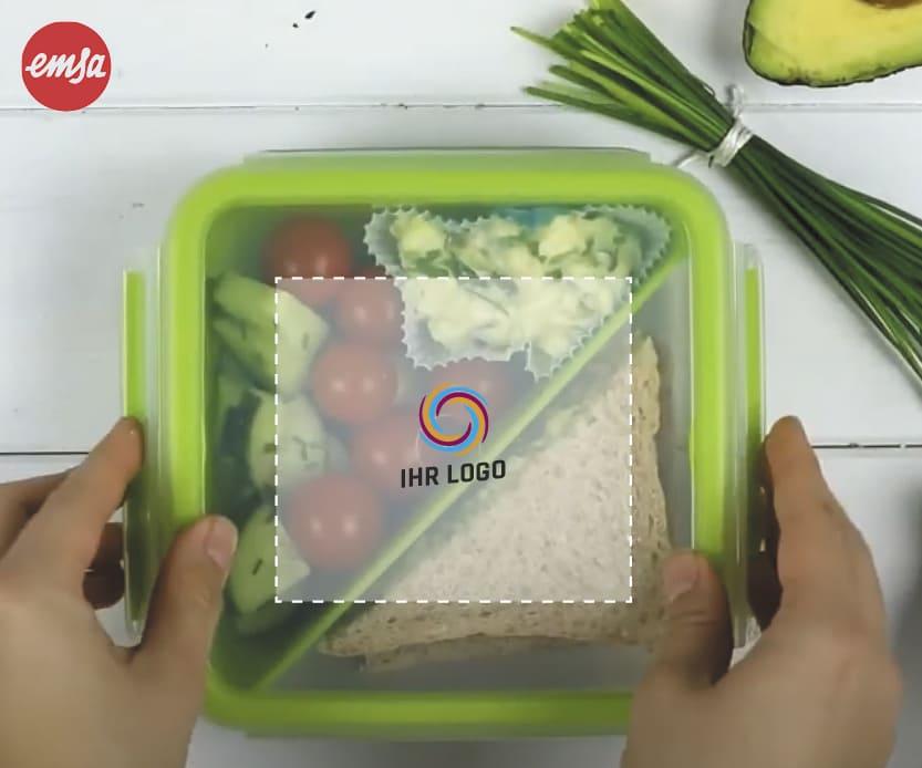 emsa CLIP & GO Sandwichbox individuell bedruckt