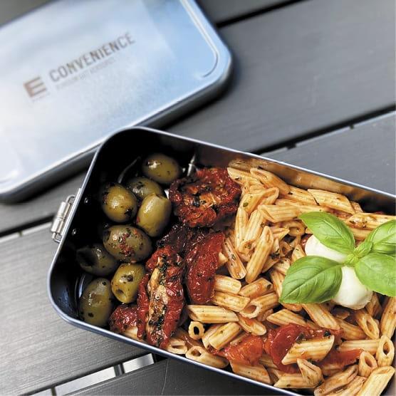 Günstige Lunchbox, nachhaltiges Werbegeschnk für Mitarbeiter mit Personalisierung