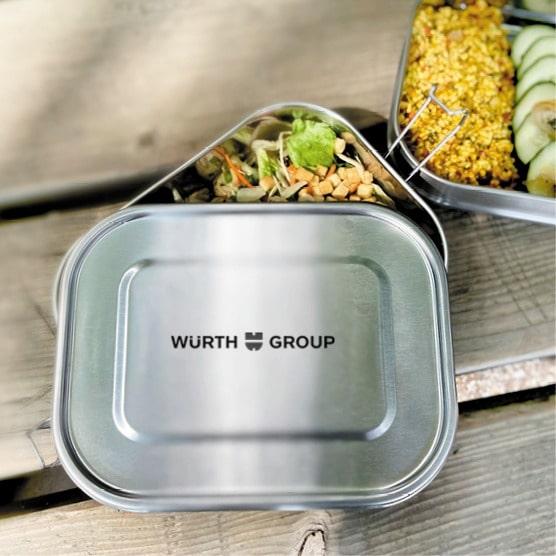 Lunchbox aus nachhaltigem Material von Koziol