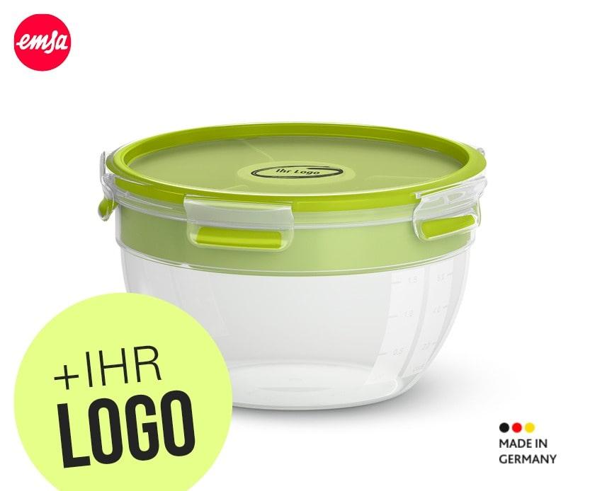 Emsa Salatbox bedruckt als Geschenk für Mitarbeiter