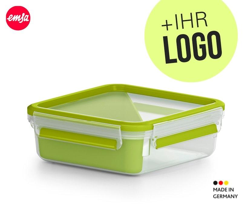 Emsa Brotzeitbox als Werbemittel bedruckt mit dem Logo Ihrer Firma