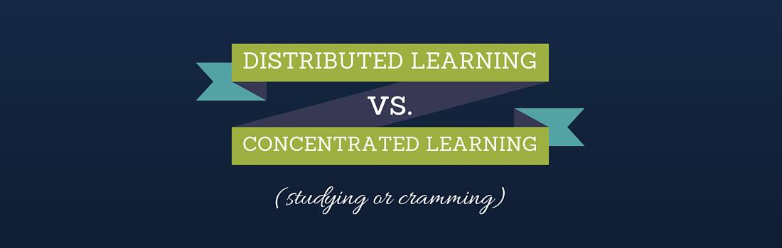 Distributed Learning vs. Concentrated Learning