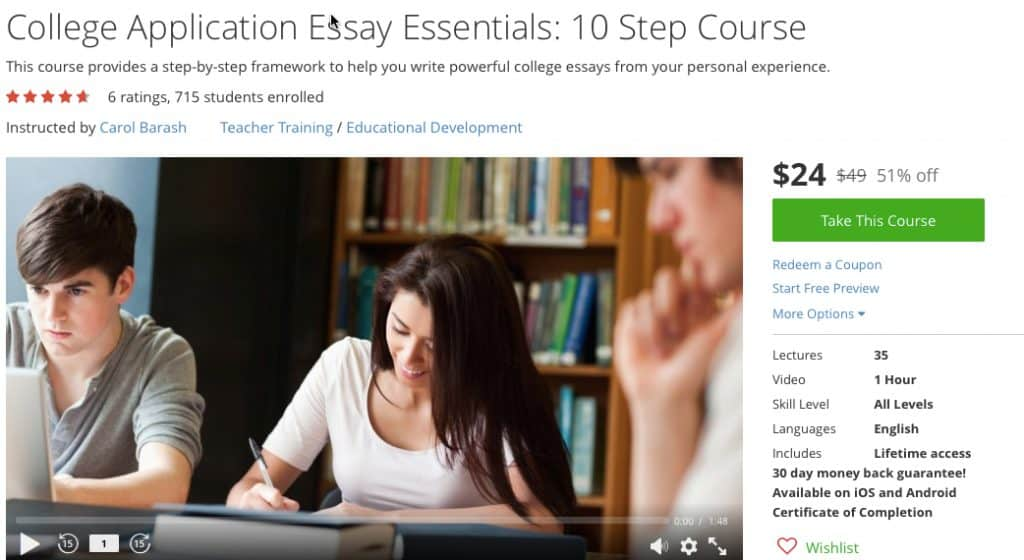 College admissions essay online 10 steps
