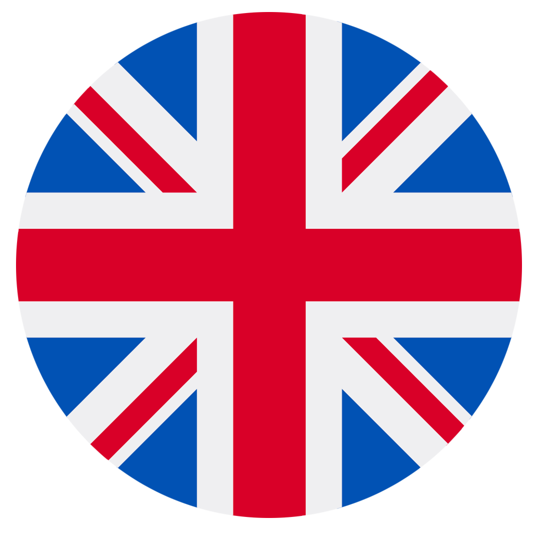 Union Jack flag that suppose a possible language switch in the page