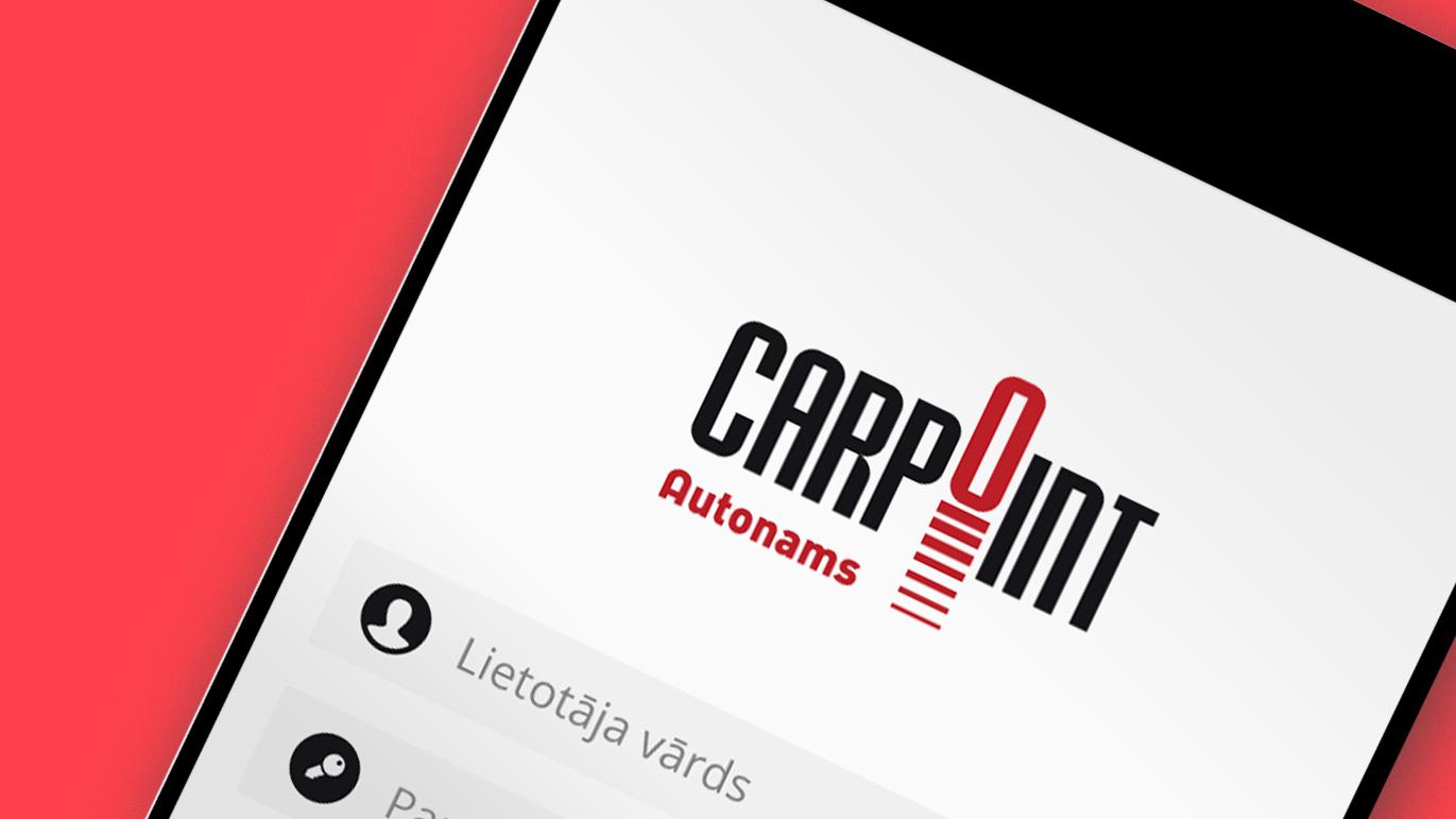Carpoint app screen