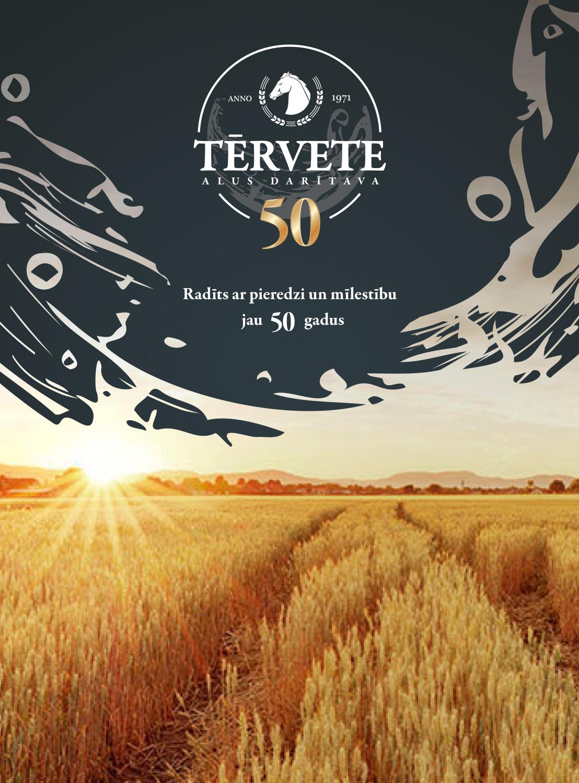 Tērvete brewery poster