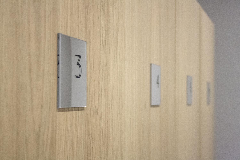 CORE Terapija dressing room