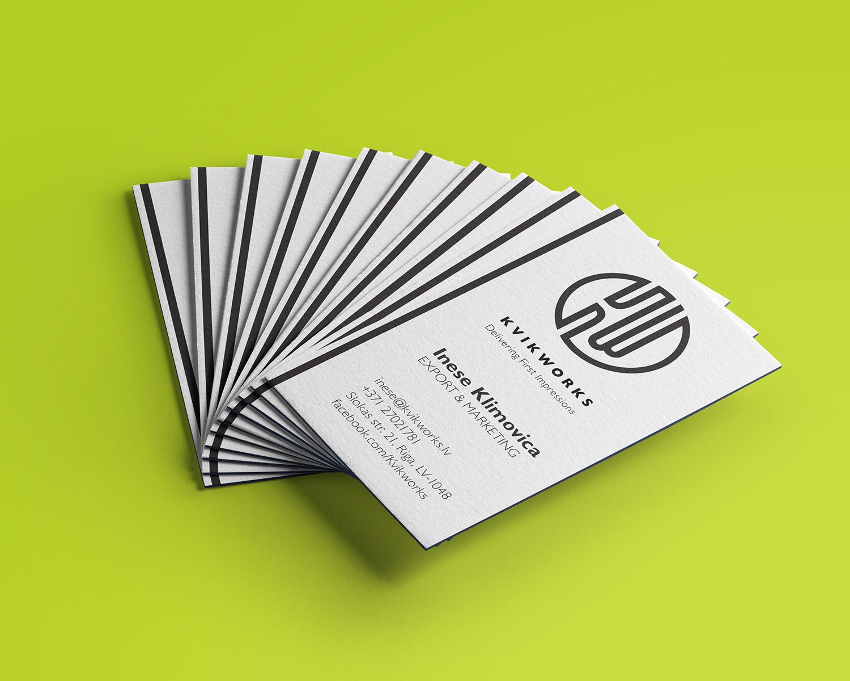 Kvikworks business cards