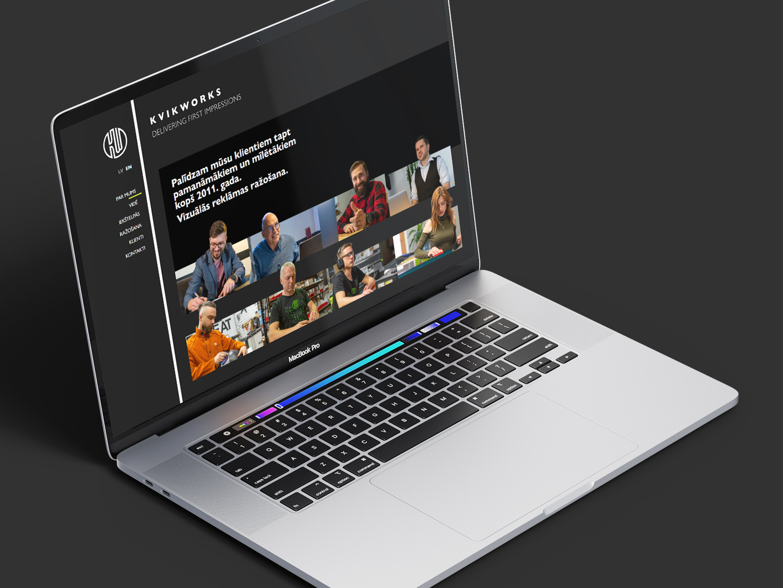 Kvikworks webpage