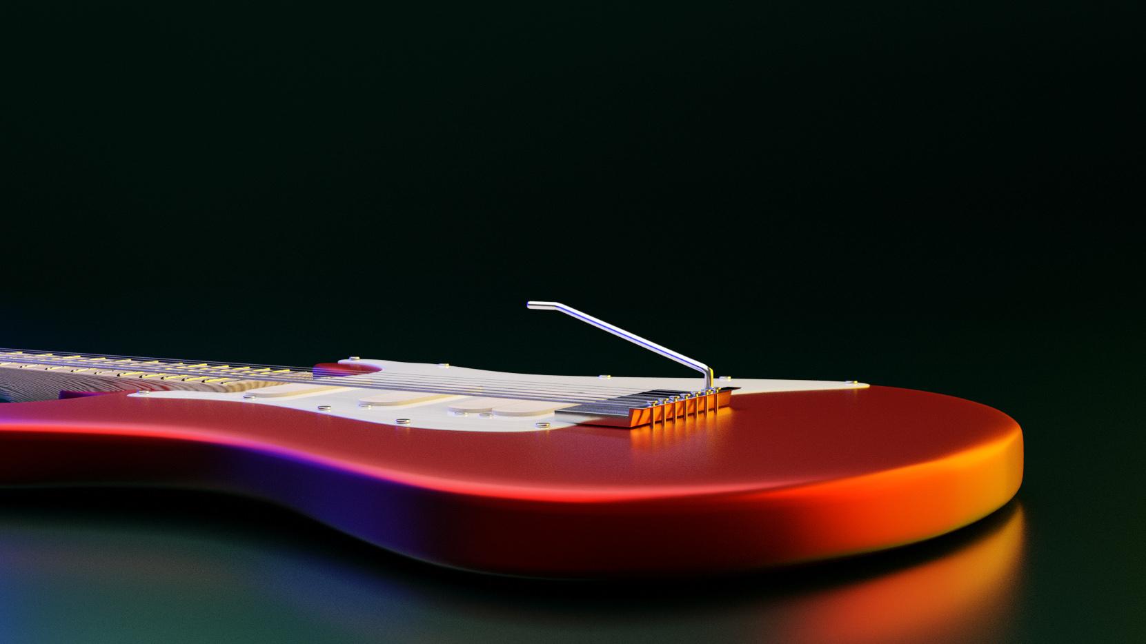 Melomaniaki visual - Fender Stratocaster