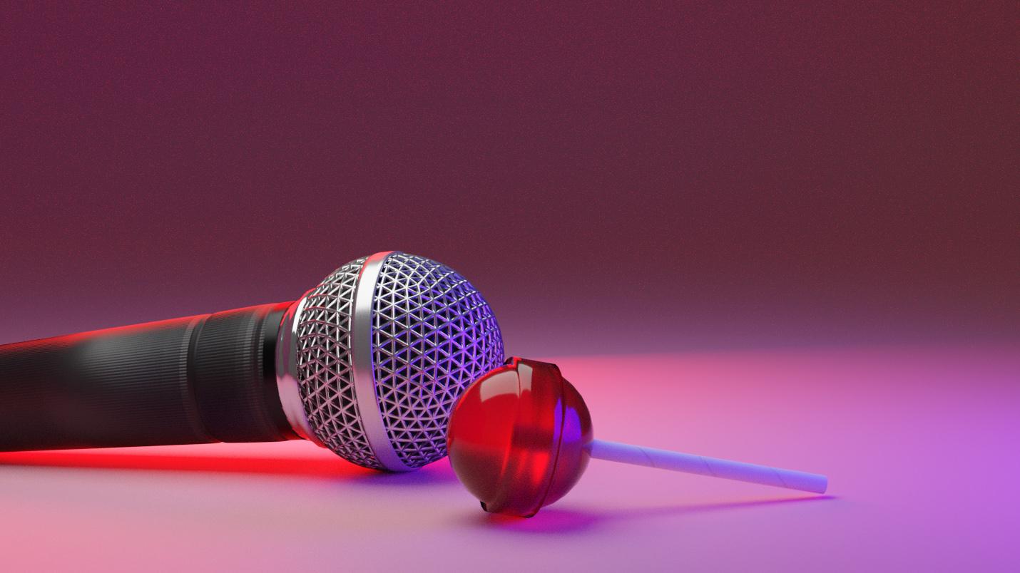 Melomaniaki visual - microphone