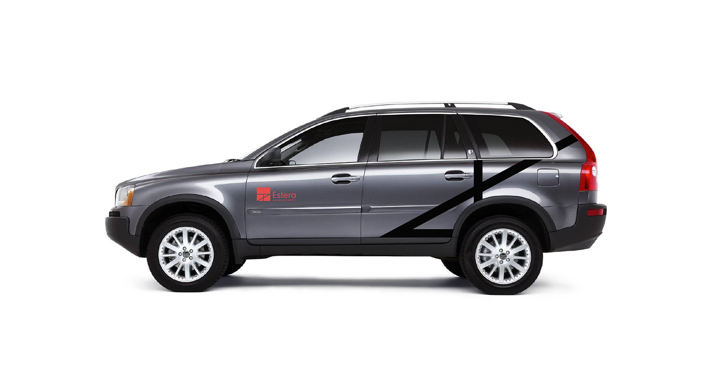 Estera Development - car wrap