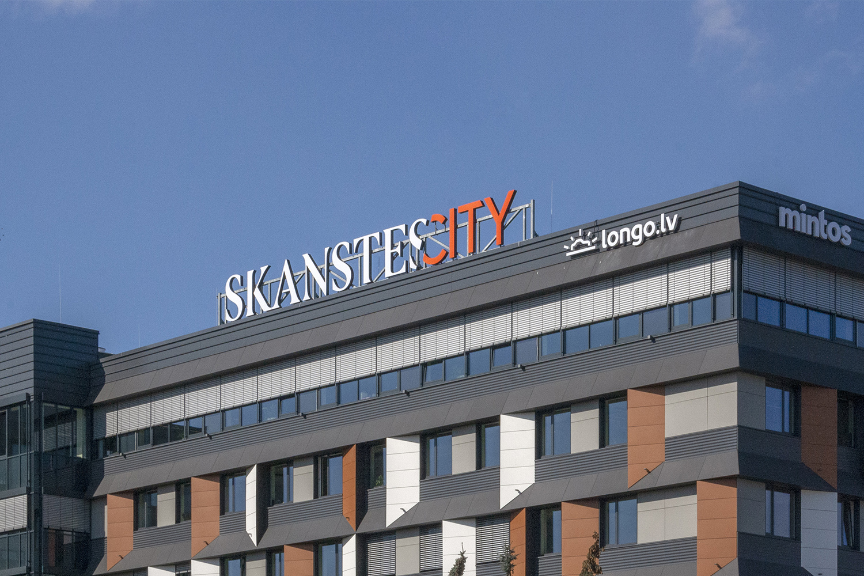 SkanstesCity - grand sign