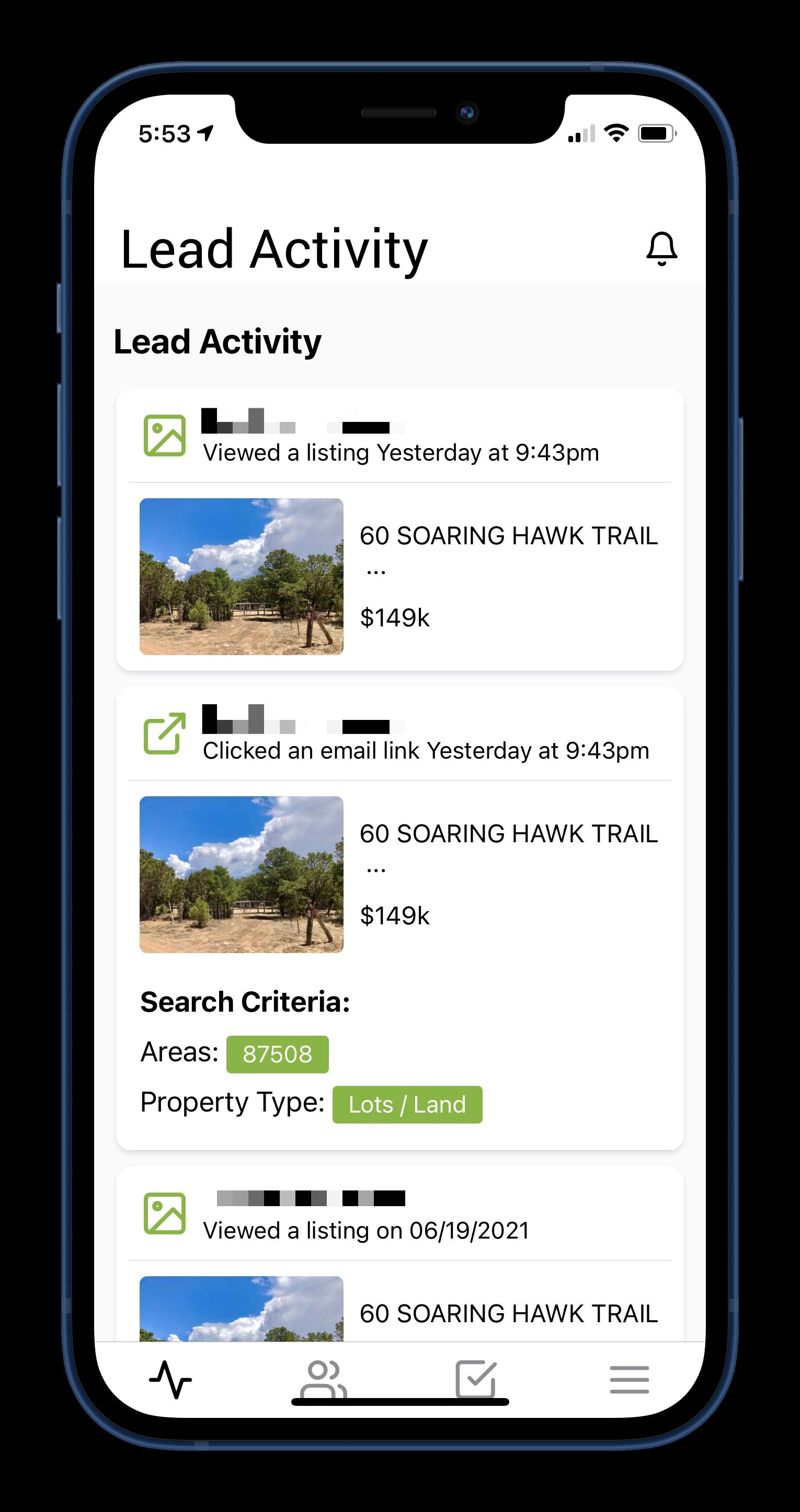 RealtyEngine Mobile App