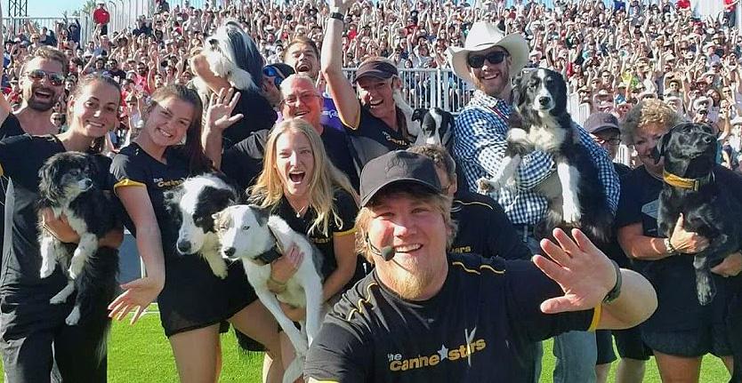 The Canine Stars Stunt Dog Show in Calgary Alberta Canada