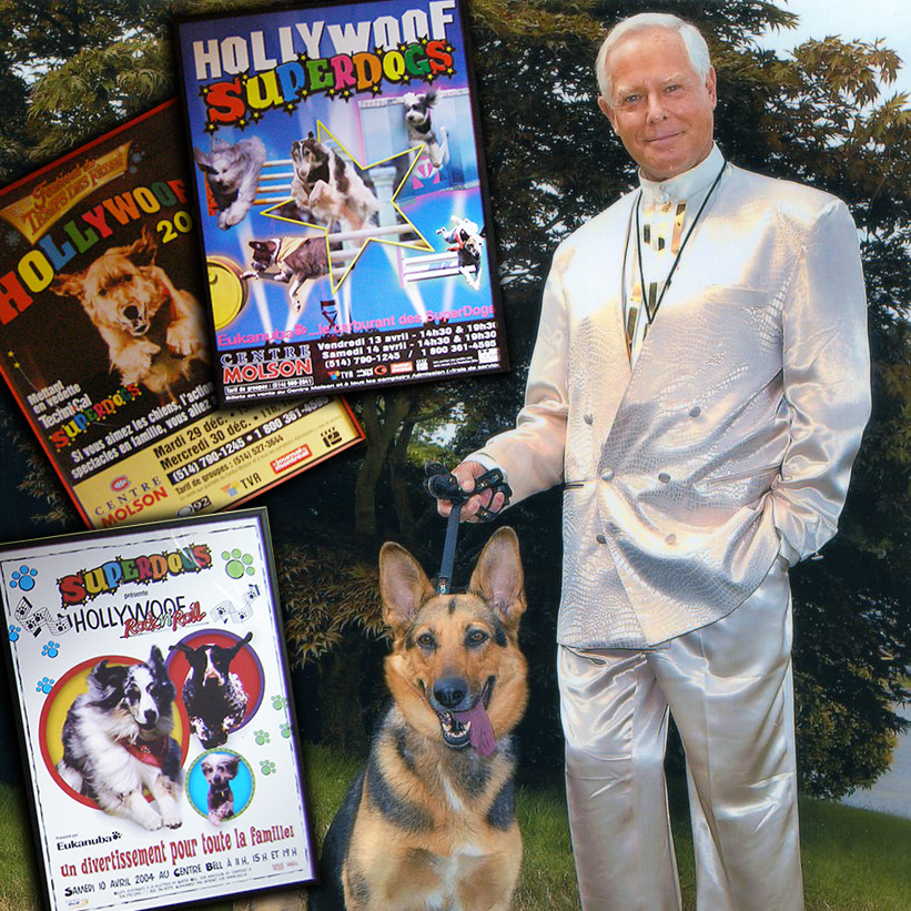Herb Williams founded the Superdogs in 1976, and the company is still one of the top dog entertainment shows in the world.