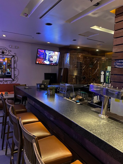 Picture of Costa Azul's Bar at night