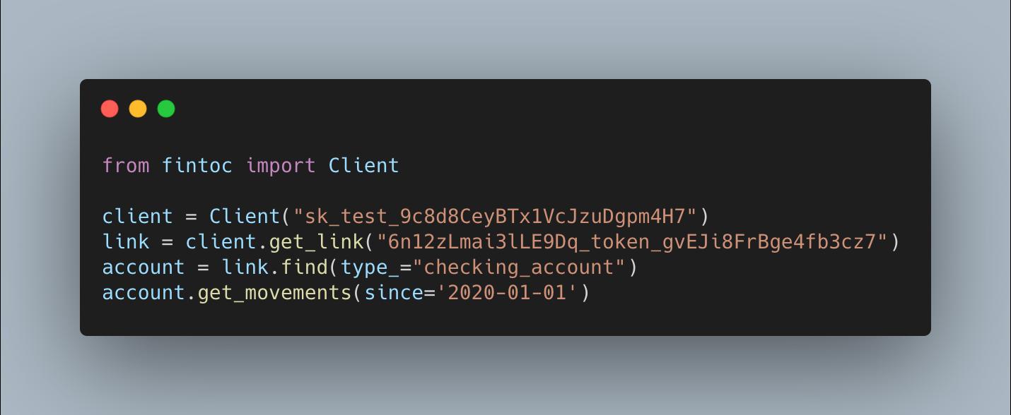 Librer铆a en Python para nuestra API