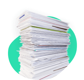 A pile of bills, like Comcast, Spectrum, DirecTV, etc. that can be negotiated.